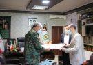 دیدار مدیر کل سلامت و امور اجتماعی شهرداری با فرماندهی یگان ویژه استان