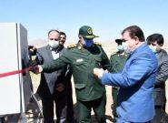 افتتاح بزرگترین طرح آبیاری سنتر پیوت به مساحت ۵۷ هکتار در سیسان شهرستان بستان آباد