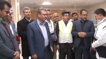 فرماندار ملکان از کمبود پزشک در اورژانس بیمارستان ملکان انتقاد کرد