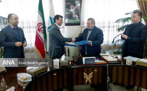 دانشگاه آزاد با مرکز علوم و فنون لیزر تفاهمنامه همکاری امضا کرد