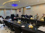 دیدار دکترجوانپور رئیس دانشگاه آزاد اسلامی استان وهئیت همراه با دکتر کیافر عضو هیئت مدیره و مدیر کارخانه زهراوی به مناسبت هفته بسیج