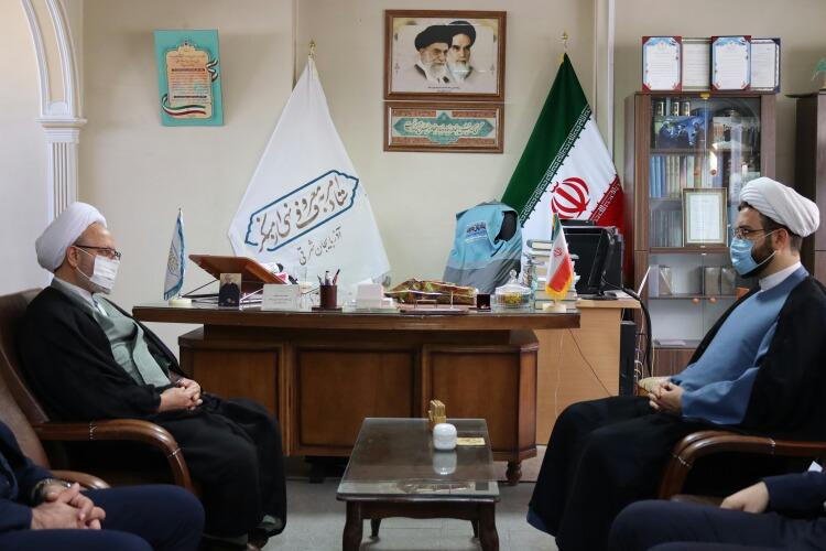 دیدار رئیس شورای هماهنگی تبلیغات اسلامی با دبیر ستاد امر به معروف و نهی از منکر استان